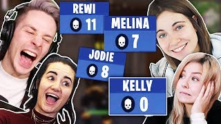 TodesSQUAD in FORTNITE mit Melina Sophie, Kelly und Jodie