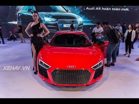 [XEHAY.VN] Chi tiết Audi R8 Coupe tại Audi Progressive tại Hà Nội