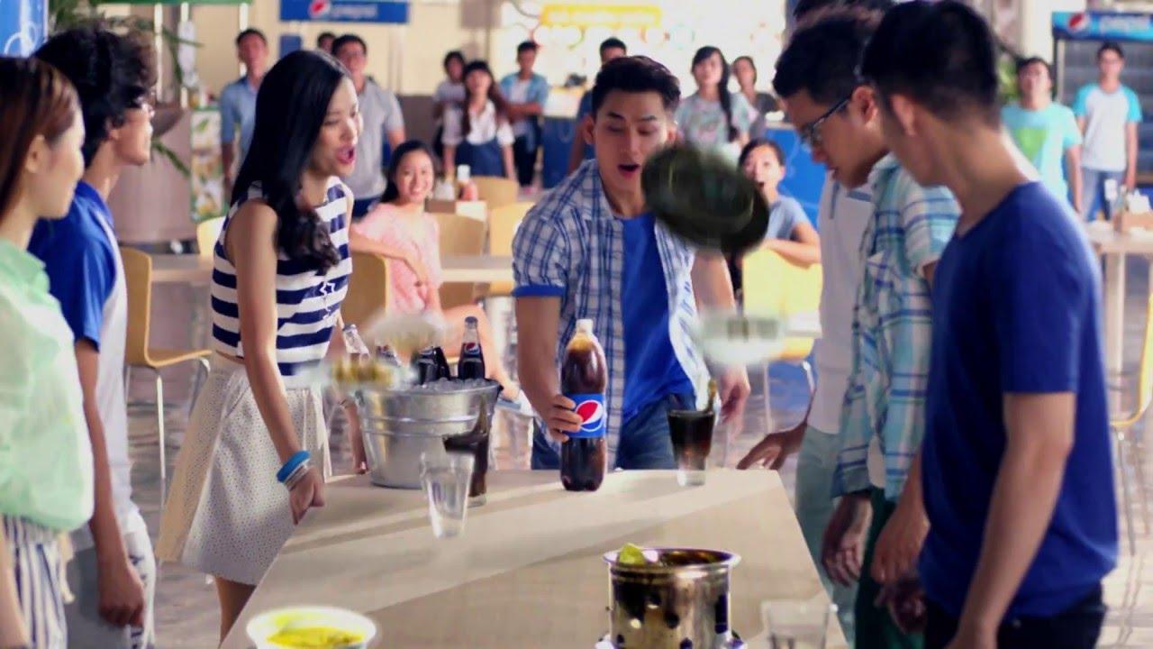 """Pepsi Emoji – #PepsiMoji – Bữa ăn của bạn có đủ """"đã"""" chưa?"""