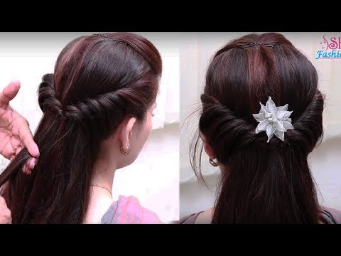 Easy Hair Style for Long Hair Women