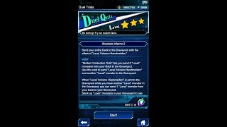 Yugioh Duel Links - Duel Quiz Level 3 : Absolute Inferno 2