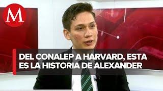 Alumno del Conalep obtiene ocho certificaciones ¡De Harvard!