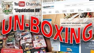 UnBoxing Wholesale Lots and Pallets - Liquidation.com