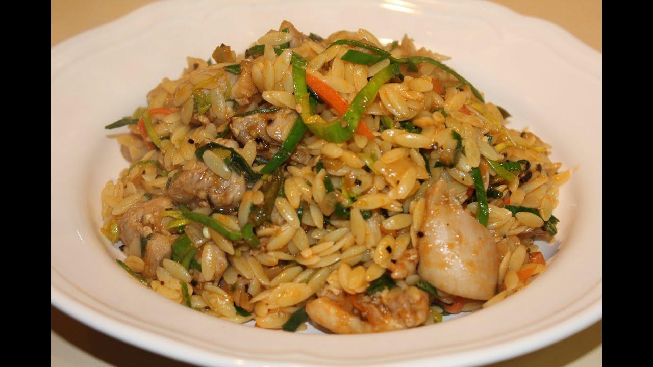Pasta rice risoni recipe