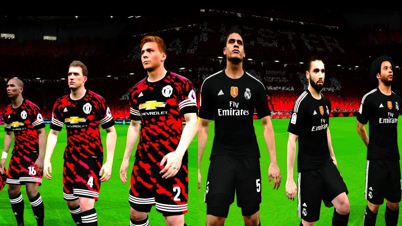 the latest 46e46 862f7 Manchester United vs Real Madrid 4-1 (FIFA Digital 4th Kits) 2017 Gameplay