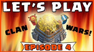 Clash of Clans - LET'S PLAY - Clan War Tips & Joining A Clan! (Ep. 4)