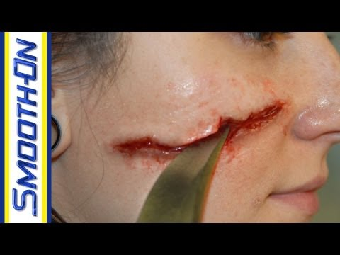 Knife Wound Special Effects Makeup Tutorial