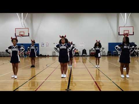 Plummer middle School Cheerleaders