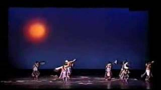 Hopi and Pueblo Indians doing Eagle Dance