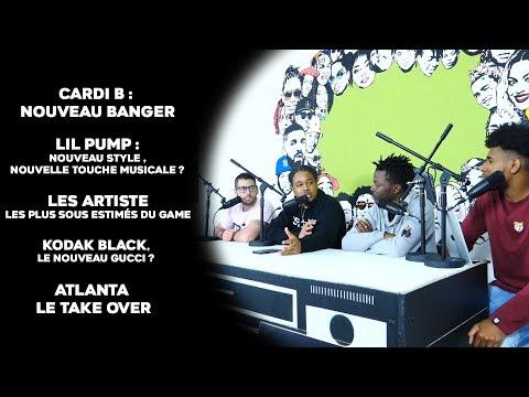Kodak Black le nouveau Gucci Mane ? Cardi B enchaine les banger ! Le nouveau Lil Pump #LiveRapFire