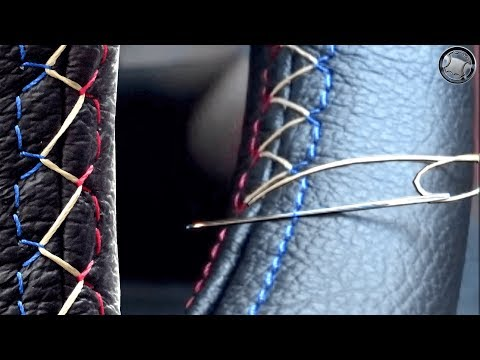 Thumbnail: How to stitch a leather steering wheel cover DIY fitting instructions