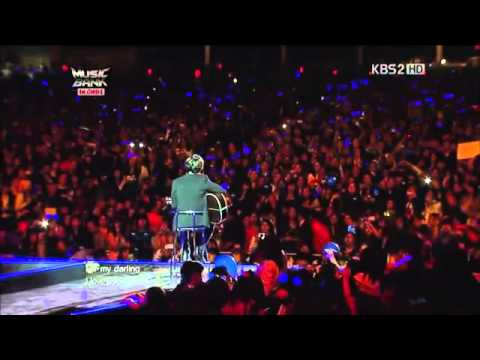 """Love Me Tender"" (Cover) by Jung Yong Hwa live at Music Bank in Chile"