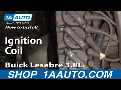 How To Replace Ignition Coil 86 05 Buick LeSabre YouTube
