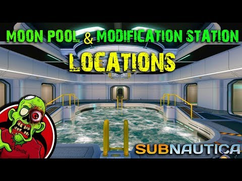 MOONPOOL AND MODIFICATION STATION 2018 - Subnautica