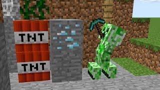 Monster School: Traps - Minecraft Animation