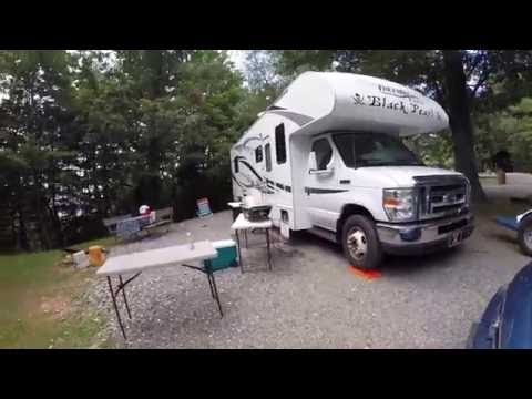 Campfire Lodgings RV Park Asheville, NC Aug 2016 Review