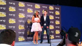 Scotty McCreery, Lauren Alaina at CMT Awards