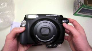 Fujifilm Instax 210 Unboxing + Close Ups!