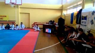 соревнование ТХЭКВОНДО лицей Петру Мовилэ Speed Kick 10