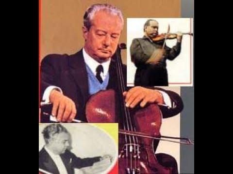 Brahms:Double Concerto-David Oistrakh&Pierre Fournier w.Alceo Galliera&Philharmonia Orch.