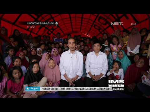 Korban Gempa Lombok Senang Bisa Dikunjungi Jokowi