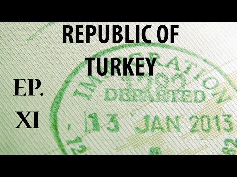P & R | Republic of Turkey | S.II, E.XI | Immigration & Tax