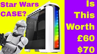🔴 Thermaltake Versa C22 Snow Edition RGB Review!  Star Wars Case???