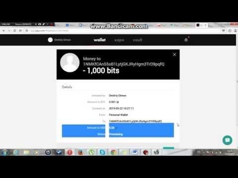 Как вывести биткоины с Xapo Перевод биткоинов на WebMoney