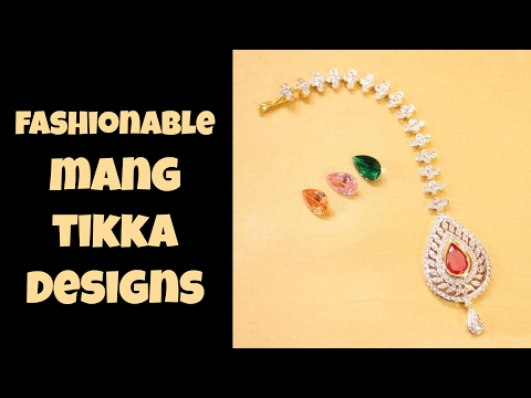 Fashionable Mang Tikka Designs