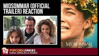 Midsommar (Official Trailer) - Nadia Sawalha & The Popcorn Junkies Family Reaction
