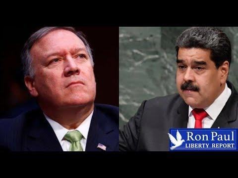 Pompeo At It Again: Calls For Venezuela Coup