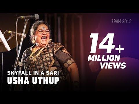 Usha Uthup Singing Adele's Skyfall