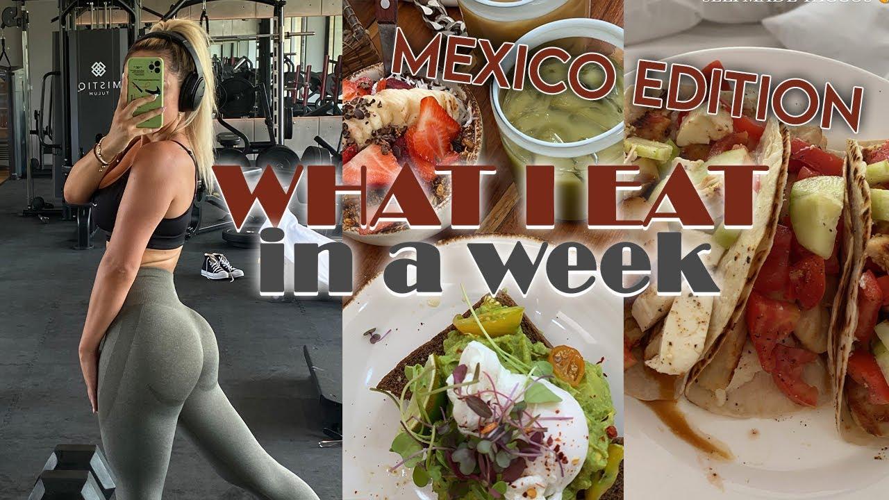 Vlog: What I eat in a Week (in Mexiko) not that healthy lol  | Jennifer Saro