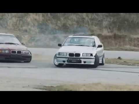 DRIFTTING BMW M4 M3 JDM STYLE E36 E46 BLACK GOLD YELLOW SILVER DRIFT SHOWOFF