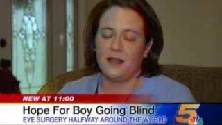 Hope for a Blind Child