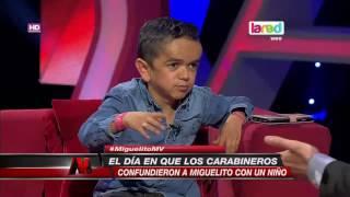La divertida anécdota de Miguelito con Carabineros