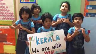 WeKare for #Kerala Oi Playschool