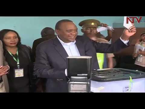 Kenyatta leading with 98% in Kenya presidential election re-run