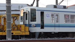 【廃車】東武東上線 8000系 8505F(秩父鉄道ATS搭載車)+8560F 廃車回送