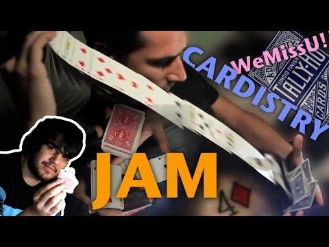Impresionantes Trucos con Cartas y Florituras con Cartas, WeMissLinoidFinish JAM!!!