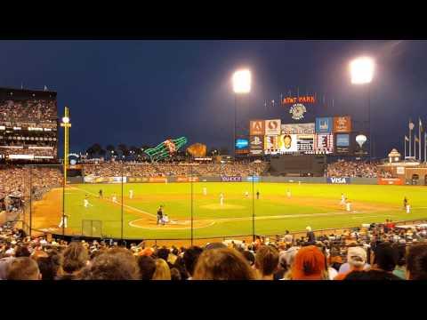San Francisco Giants Marlon Byrd's Grand Slam vs. St. Louis Cardinals (08/28/2015)