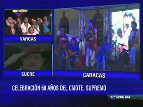 Así inició celebración de 60 años del Comandante Hugo Chávez, 28/07/2014