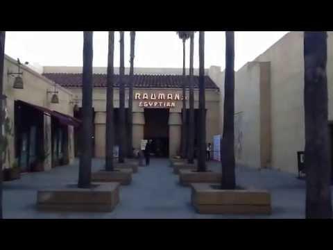 Hollywood Graumans Egyptian Theatre - Los Angeles California