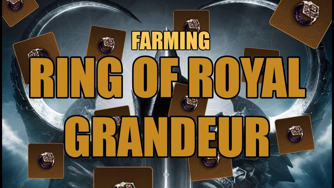 Royal Ring Of Grandeur Farming
