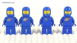 LEGO Movie Benny vs. REAL Classic Space minifigs compared!