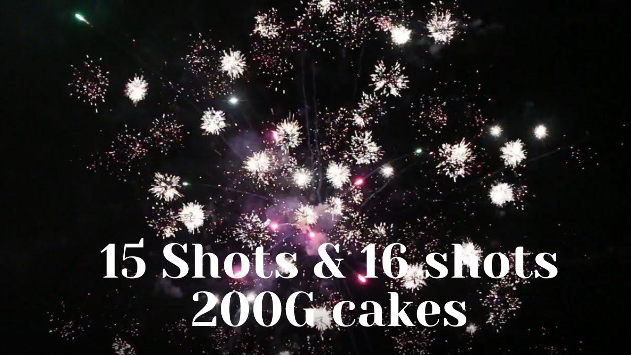 Cyber Workz 15shots & All Cracked Up16shots 200G Cake BW122&BW1227