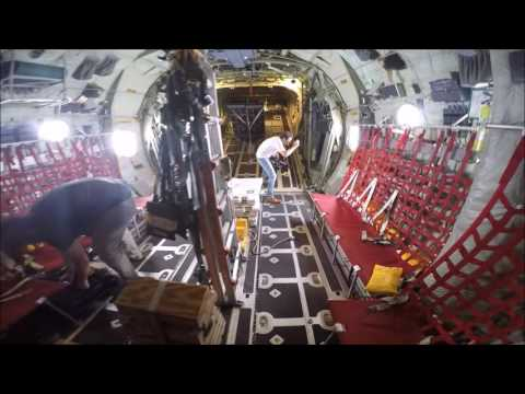 WC-130J Hurricane Hunter Flight From Andrews AFB, Maryland, on June 28