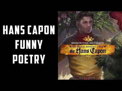 Hans Capon Funny Poetry Recitation for Butcher's daughter | Hans Capon DLC | KCD |