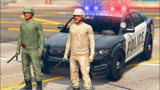 MINIJUEGO: SUPER POLICIAS DEL BARRIO | GTA V ONLINE | GRAND THEFT AUTO 5 CON BEBE VITA Y TIMO